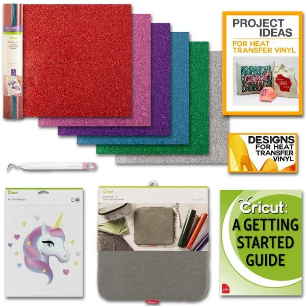 Shop Cricut Easy Press Heat Press Mat Bundle Cricut Glitter