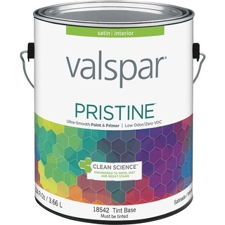 Valspar Int Satin Tint Bs Paint
