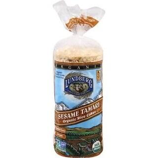 Lundberg Family Farms - Tamari Seaweed Rice Cakes ( 12 - 8.5 oz boxes)