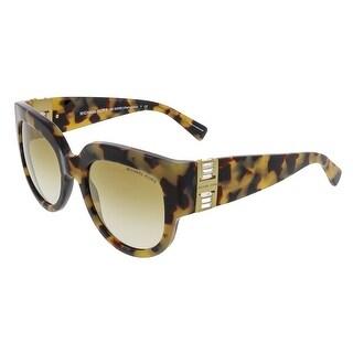 Michael Kors MK2003B VILLEFRANCHE 302614 Blush Tortoise Square Sunglasses