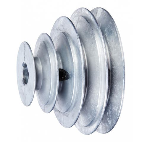 """Chicago Die Casting 1416 V-Groove 4-Step Pulley 5/8"""" For 4L or 1/2'' x 11/32''"""
