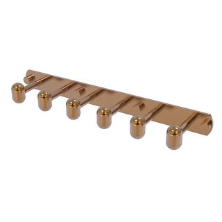 Allied Brass Tango Collection 6 Position Tie and Belt Rack