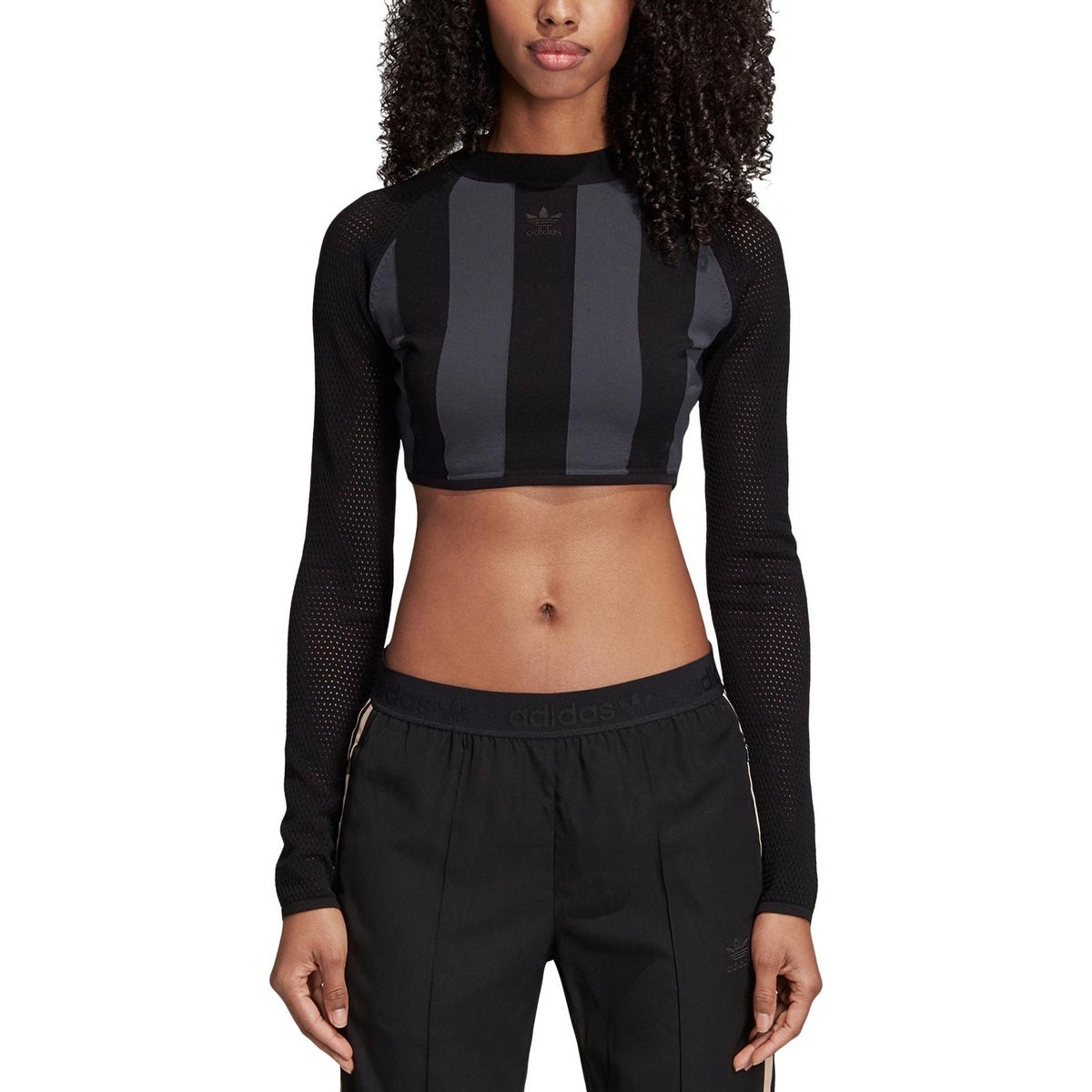 adidas Originals Womens Pullover Top Fitness Workout