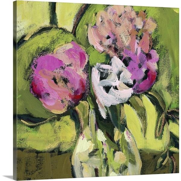 """Pink Makes Me Happy III"" Canvas Wall Art"