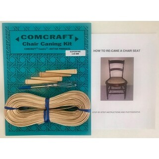 Comcraft Chair Caning Kit-Superfine 2Mm Cane