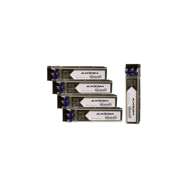 Axion J4859C-5PK Axiom 1000BASE-LX SFP for HP (5-Pack) - For Optical Network, Data Networking - 1 x 1000Base-LX - Optical Fiber