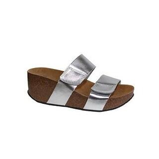 Eric Michael Women's Cody Wedge Sandals