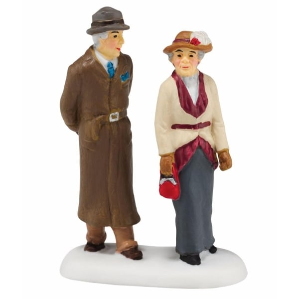 "Department 56 Downton Abbey Series ""A Lady & Gentleman Friend"" Figurine #4044803"