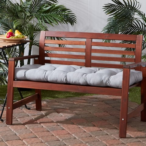 Outdoor 18-inch x 51-inch Polyester Bench Cushion