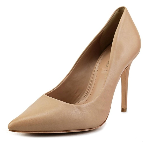 BCBG Max Azria Opia Pointed Toe Leather Heels