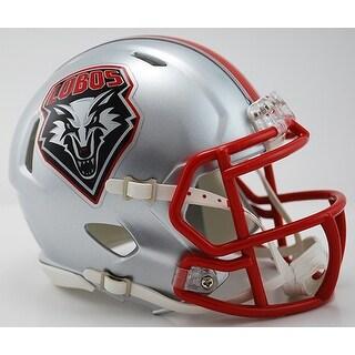 New Mexico Lobos Riddell Speed Mini Football Helmet