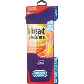 Heat Holders LHHORGPUR Ladies Thermal Socks, 5-9, Purple