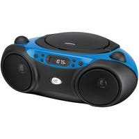 GPX BC232BU Sporty CD & Radio Boom Box (Blue)