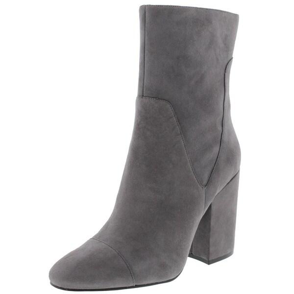 Kendall + Kylie Womens Brooke Mid-Calf Boots Suede Block Heel