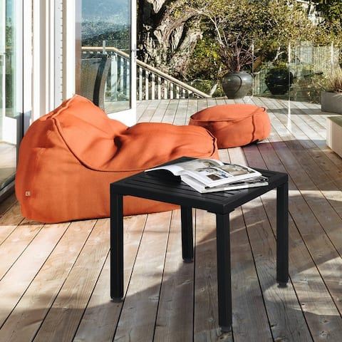 Outdoor Wrought Iron Side/Coffee Table