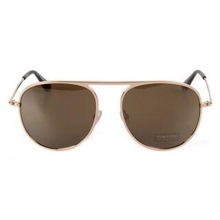 Tom Ford Jason-02 FT0621 28L 57 Aviator Sunglasses - 57mm x 17mm x 145mm