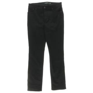 Lauren Ralph Lauren Womens Straight Leg Jeans Super-Stretch Colored - 10