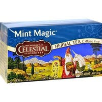 Celestial Seasonings - Caffeine Free Mint Magic Herbal Tea ( 6 - 20 BAG)