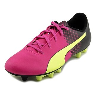 Puma EvoSPEED 5.5 Tricks FG Jr Soccer Cleats Youth Leather Pink Cleats