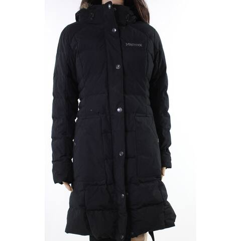Marmot Midnight Black Women's Size Small S Quilted Parka Jacket
