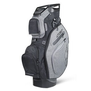 Sun Mountain 2018 C-130 Cart Bag - Black / Charcoal - Black / Charcoal