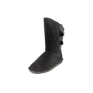 Bearpaw Boshie Round Toe Suede Winter Boot