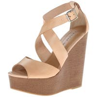 Chinese Laundry Womens Java Open Toe Casual Platform Sandals