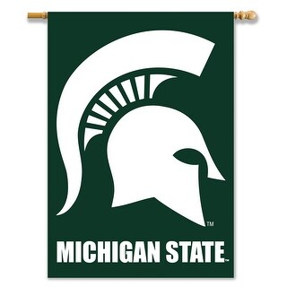 Michigan State University Spartans 2-Sided House Flag/Banner