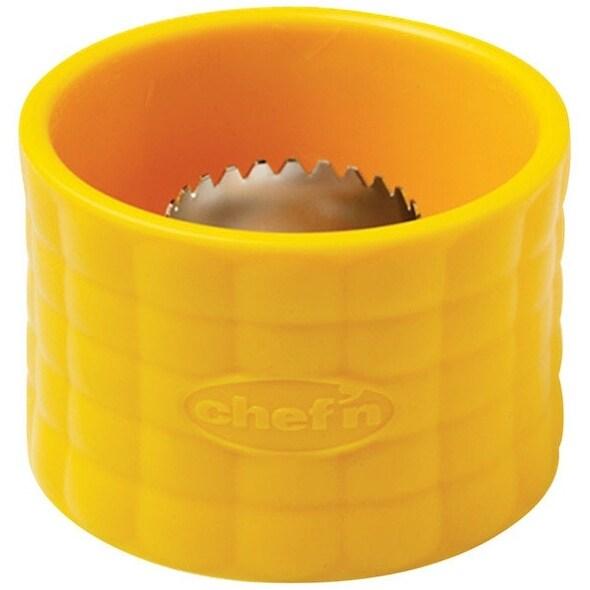 "Chef'N 102-812-017 Plastic Corn Stripper, 2-3/4"", Yellow"