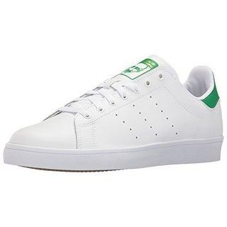 Adidas Womens STAN SMITH VULC, FTWWHT/FTWWHT/GREEN, 6
