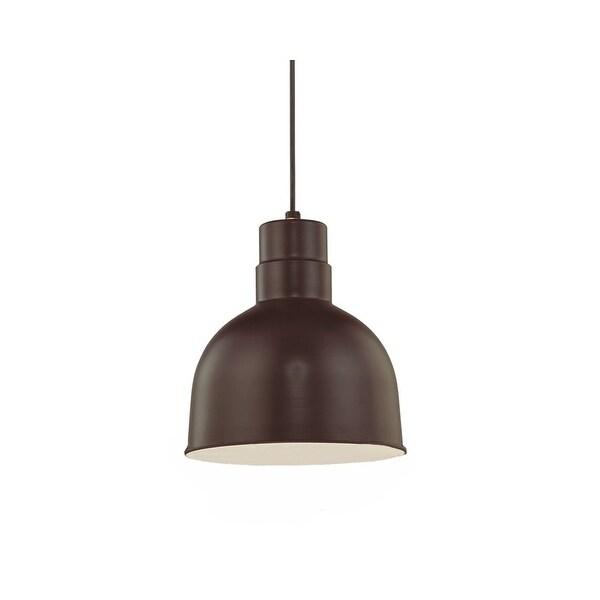 "Millennium Lighting RDBC10 R Series 1-Light 10"" Wide Bowl Pendant"