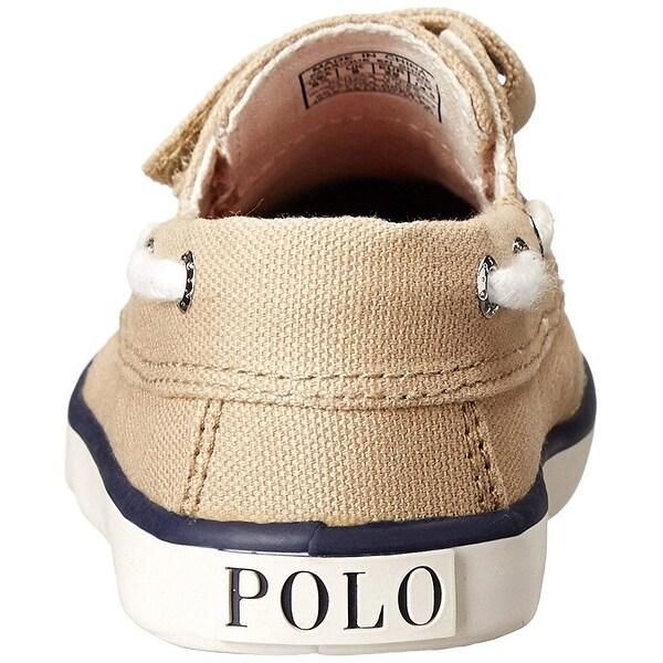 Toddler//Little Kid Polo Ralph Lauren Kids Sander EZ Canvas Fashion Boat Shoe