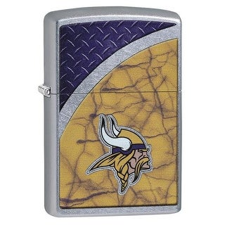 Zippo 29368 Minnesota Vikings NFL Street Chrome Finish Lighter