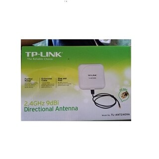 Tp-Link Tl-Ant2409a 9Dbi Directional Antenna With 2.4Ghz-2.5Ghz Frequency Range