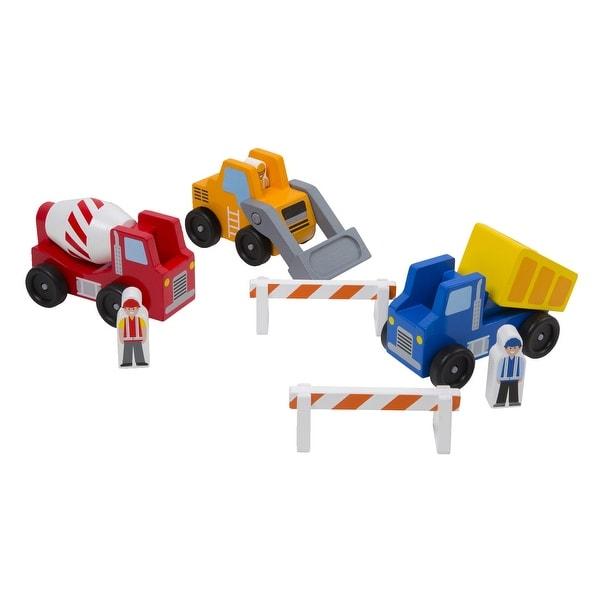 Melissa & Doug Construction Vehicles, 8 Pieces. Opens flyout.