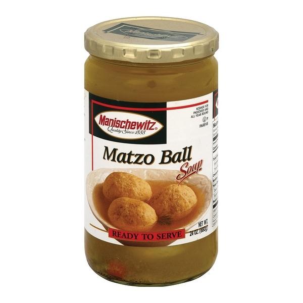 Manischewitz Soup Matzo Ball - Case of 12 - 24 oz.