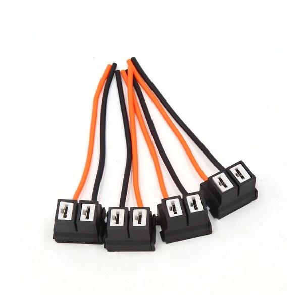 Strange Shop 4Pcs H7 Ceramic Light Lamp Bulb Extension Wire Harness Socket Wiring Digital Resources Anistprontobusorg