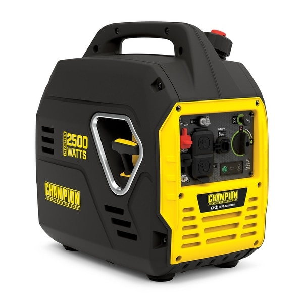 Champion 2500-Watt Ultralight Portable Inverter Generator with USB Ports. Opens flyout.