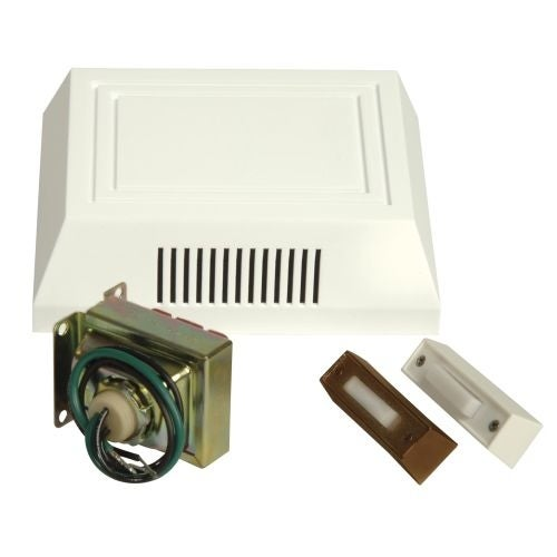 Craftmade C102L Builder ADA Compliant Door Chime Kit   Single Chime, Two  Pushbuttons And 16V Transformer Included   Free Shipping On Orders Over $45  ...