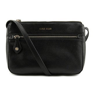 Cole Haan Dimitra Cross Body Women Leather Black Messenger