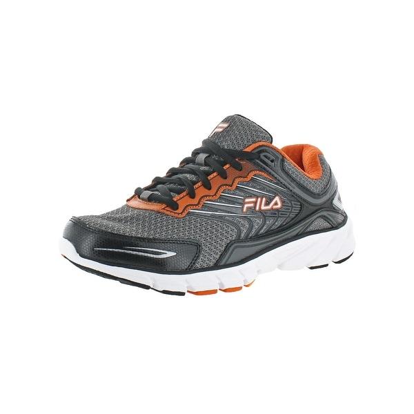 Fila Mens Memory Maranello 4 Running Shoes Leather Mesh - 8.5 medium (d)