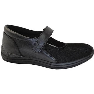 Drew Women's Magnolia Black Nappa/Stretch