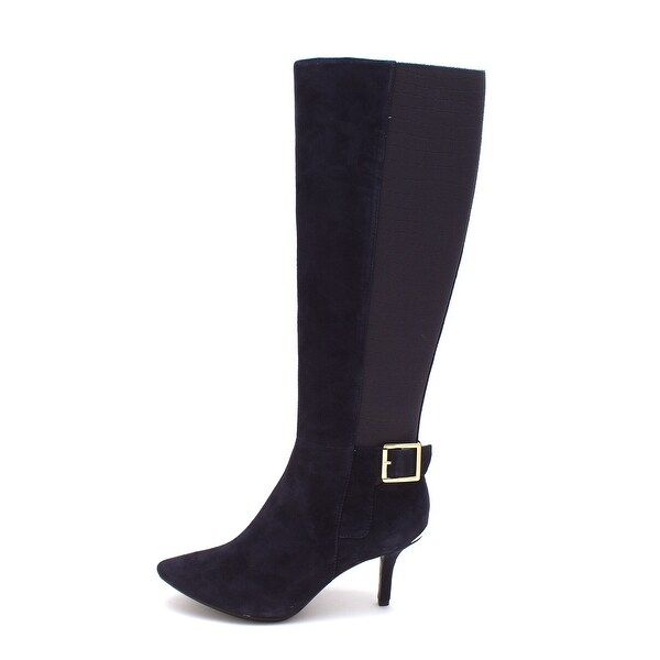 Calvin Klein Womens Julietta Kansas Closed Toe Over Knee Fashion Boots