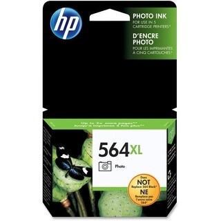 HP 564XL High Yield Photo Original Ink Cartridge (CB322WN)(Single Pack) HP 564XL Photo Black Ink Cartridge - Photo Black