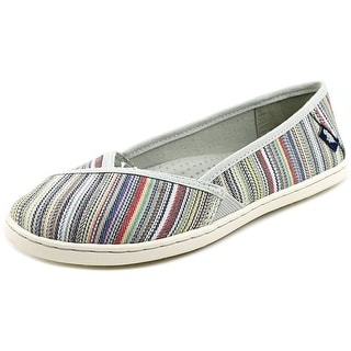 Rocket Dog Hanes Women Round Toe Canvas Multi Color Flats