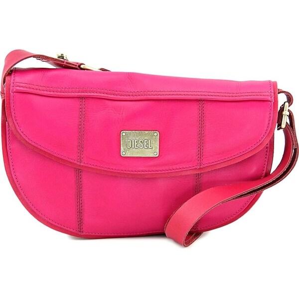 Diesel D-Light Women   Leather  Shoulder Bag - Pink