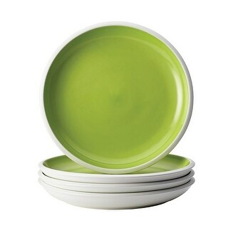 Rachael Ray Rise Dinnerware 4-Piece Salad Plate Set Green