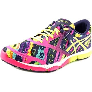 Asics 33-DFA Women Round Toe Synthetic Multi Color Running Shoe