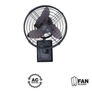 "Ellington Fans Faraday Faraday 14"" 3 Blade (Included) Indoor Wall Mount Fan"