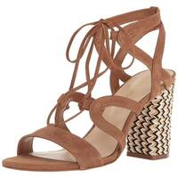 Nine West Women's Bizzy Suede Dress Sandal